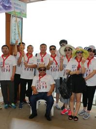 vwin德赢体育app团队北戴河欢乐之旅